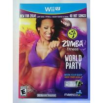 Zumba Fitness World Party 2014 Wii U Novo Lacrado.