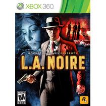 La Noire - Jogo Xbox 360 (investigação Criminal) - Semi Novo