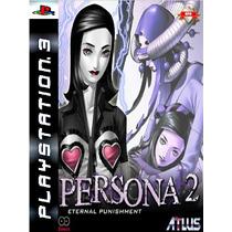 Persona 2 Eternal Punishment Psn Ps3 Midia Digital