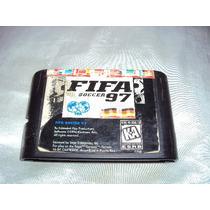 Mega Driver Sega Iii Jogo Antigo Fifa Soccer 97