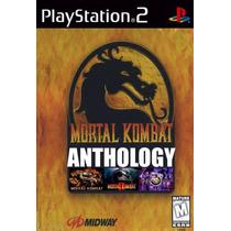 Patch Mortal Kombat Collection ( 6 Jogos ) Ps2 Frete Gratis