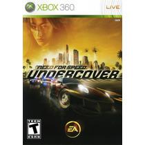 Jogo Novo Lacrado Need For Speed Undercover Para Xbox 360