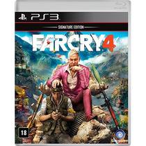 Jogo Novo Lacrado Ubisoft Far Cry 4 Para Playstation 3 Ps3