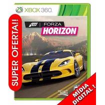 Forza Horizon Original Xbox 360 Em Português - Mídia Digital