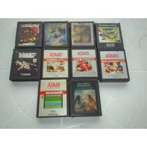 Lote De 10 Cartuchos De Atari - Varias Marcas