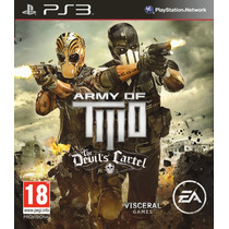 Army Of Two The Devils Cartel Ps3 ( Código Psn )env. Na Hora