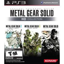 Metal Gear Solid Hd Collection Playstation 3 Lacrado