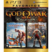 God Of War Collection Hd 1 E 2 Ps3 Novo Original Lacrado