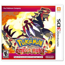Pokemon Omega Ruby Nintendo 3ds - Original Lacrado