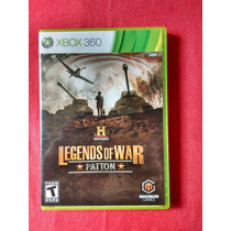 History Legends Of War Patton Ntsc- Xbox 360 - Frete R$10