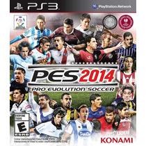 Pes 2014 Ps3 ( Código Psn ) Envio Na Hora Promoção