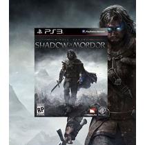 Middle Earth Shadow Of Mordor Ps3 Código Psn Português