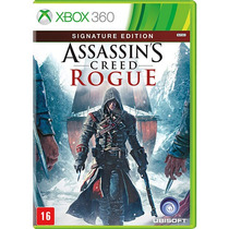 Assassins Creed Rogue - Jogo Xbox 360 Em Português Semi Novo