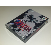 Caixa Zelda Ocarina Of Time Japones, Nintendo 64!!!!