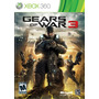 Gears Of Wars 3 Xbox 360 Cartão Live Legendado Portugues