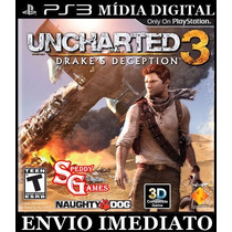 Uncharted 3 Ps3 Psn Cod Digital