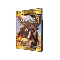Jogo Ps3 Lacrado: Uncharted 3 - Drake