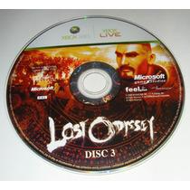 Disco 3 Lost Odyssey Original Xbox360