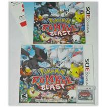 Pokemon Rumble Blast 3ds - Game Original Americano.