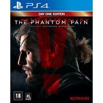 Jogo Metal Gear Solid V:the Phantom Pain Ps4 Playstation 4