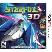 Star Fox 64 - 3ds - Impecável / Raríssimo !!!