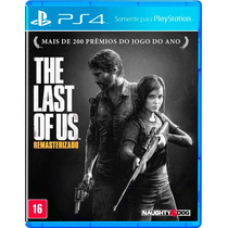 The Last Of Us Remastered Ps4 - Secundária E Jogo Dublado