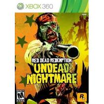 Jogo Para Xbox 360 - Red Dead Redemption Undead- Original