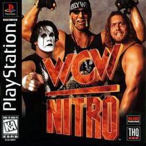 Wcw Nitro - Playstation 1 - Luta-livre - Frete Gratis.