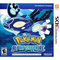 Pokemon Alpha Sapphire Nintendo 3ds Original Lacrado