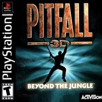 Pitfall 3d Beyond Jungle - Playstation 1 - Frete Gratis.