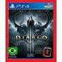 Diablo 3 Reaper Of Souls Ps4 Psn Primario Portugues Br