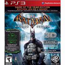 Batman: Arkham Asylum - Game Of The Year Edition - Ps3