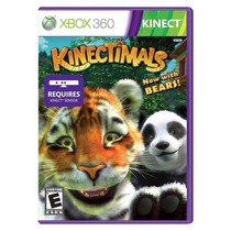 Jogo Novo Lacrado Kinectimals Para Xbox 360 Kinect