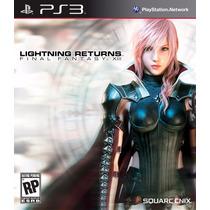 Lightning Returns Ff13 Jogo Ps3 Original Lacrado