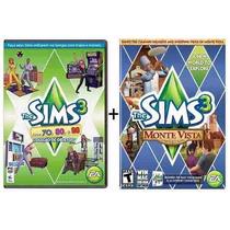 The Sims 3 Pc Exp Monte Vista + Anos 70 80 90 - Frete Grátis