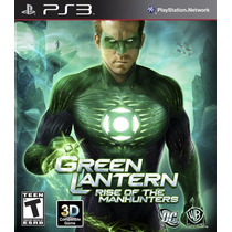 Green Lantern: Lanterna Verde - Rise Of Manhunters - Ps3