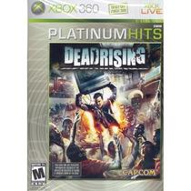 Jogo Novo Lacrado Dead Rising Platinum Hits Para Xbox 360