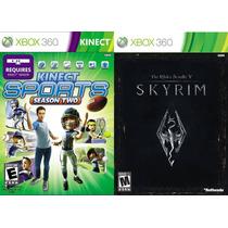 Kinect Sports 2 + The Elder Scrolls V: Skyrim Xbox 360