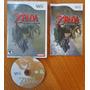 Wii: Zelda Twilight Princess Americano Completo! Raríssimo!