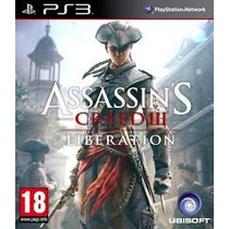 Assassins Creed Liberation Cry Ps3 - Midia Digital Receba Hj