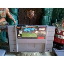 Cartucho Super Nintendo - Head On Futebol