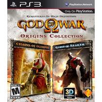 God Of War Origins Collection Ps3 Usado Original