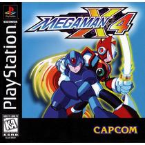 Megaman X4 - Playstation 1 - Frete Gratis.