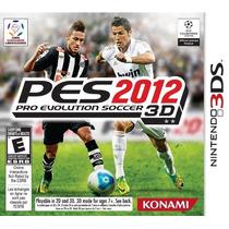 Pro Evolution Soccer 2012 3d(com Manual E Caixa)