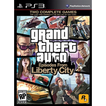 Gta 4: Grand Theft Auto Iv: Episodes From Liberty City - Ps3