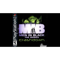 Men In Black Crashdown - Homens De Preto - Playstation 1 Psx