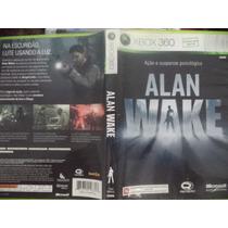 Xbox 360 - Allan Wake - Ação E Suspense - Pode Retirar