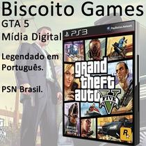 Gta 5 - Ps3 - Mídia Digital - Legendado Pt - Psn Brasil