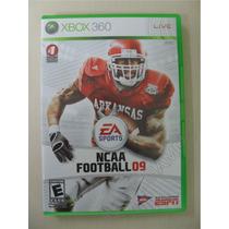 Ncaa Football 09 Sem Manual - Original Xbox 360 Ntsc