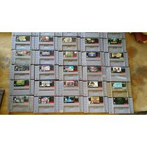 Cartuchos/fitas/jogos Super Nintendo(só Originais)
